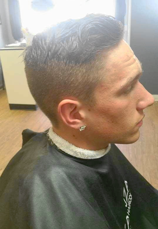 Mens haircut and style!