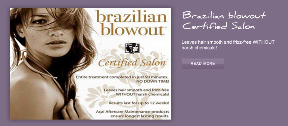 Brazilian blowout Certified